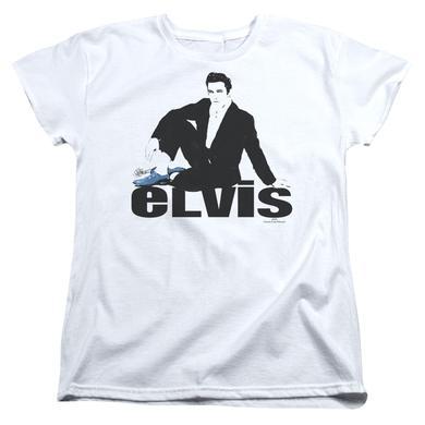 Elvis Presley Women's Shirt | BLUE SUEDE Ladies Tee