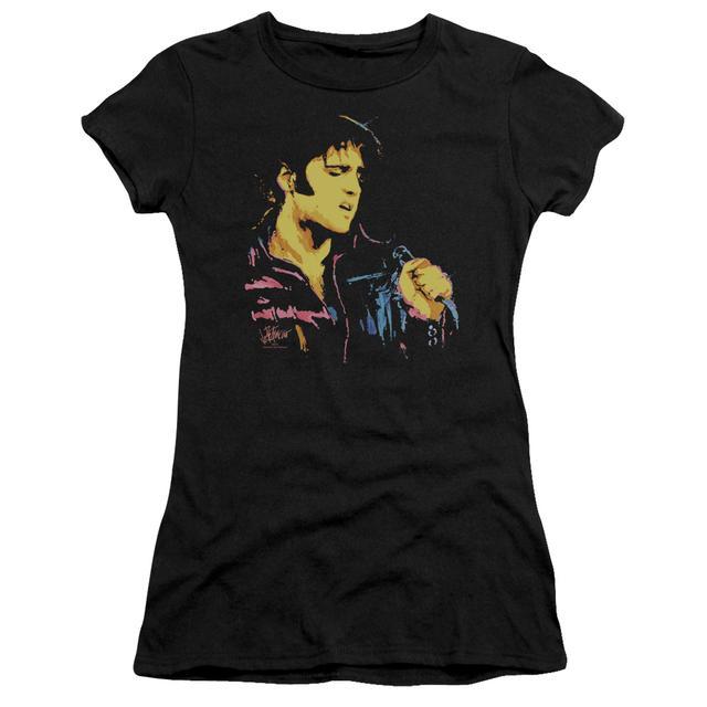Juniors Shirt | NEON ELVIS Juniors T Shirt