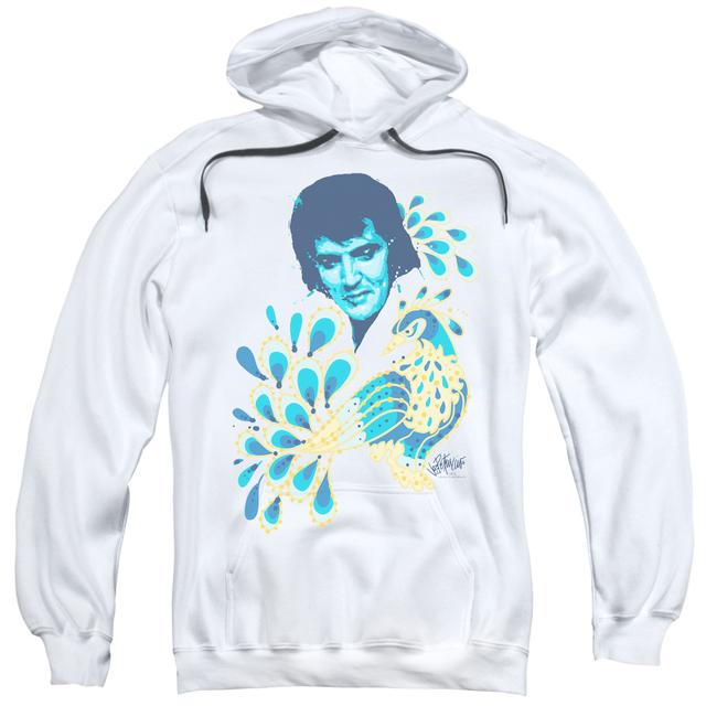 Elvis Presley Hoodie | PEACOCK Pull-Over Sweatshirt