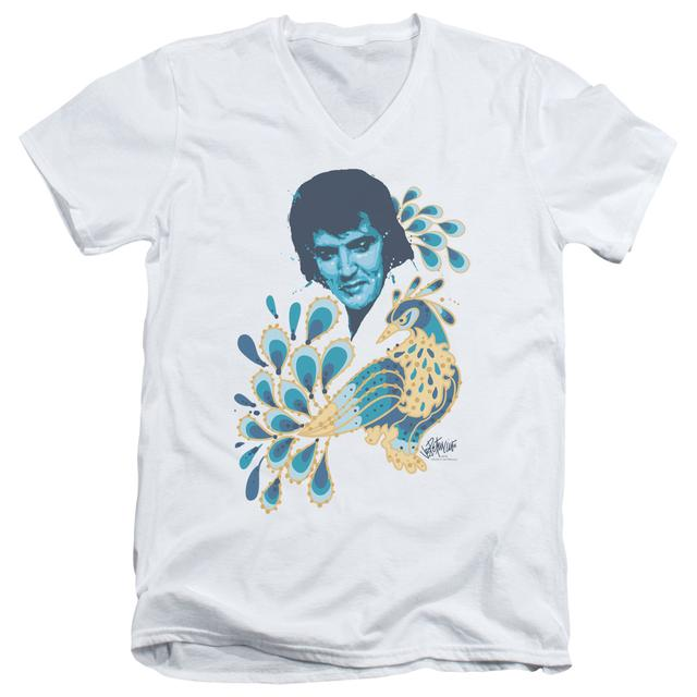 Elvis Presley T Shirt (Slim Fit) | PEACOCK Slim-fit Tee