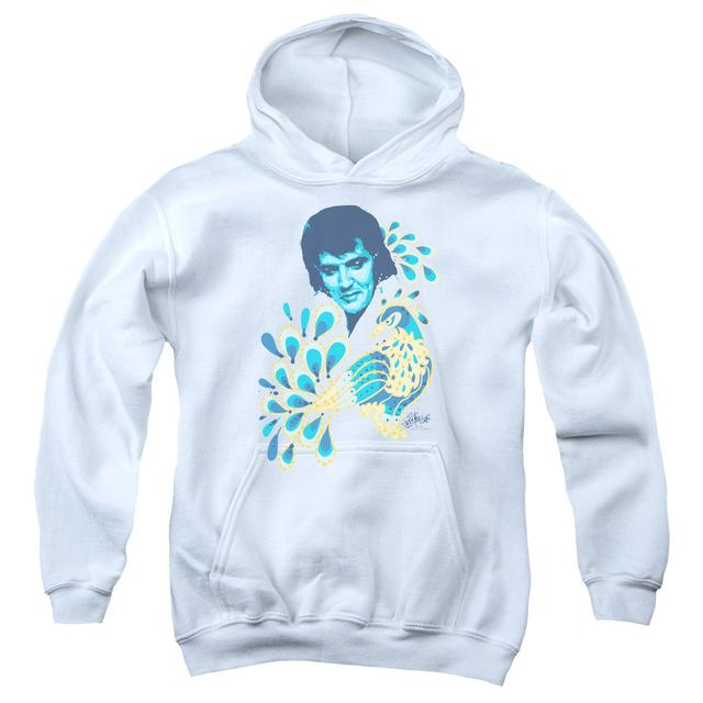 Elvis Presley Youth Hoodie | PEACOCK Pull-Over Sweatshirt