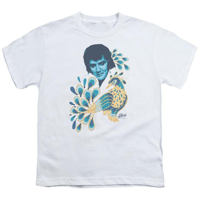 Elvis Presley Youth Tee | PEACOCK Youth T Shirt