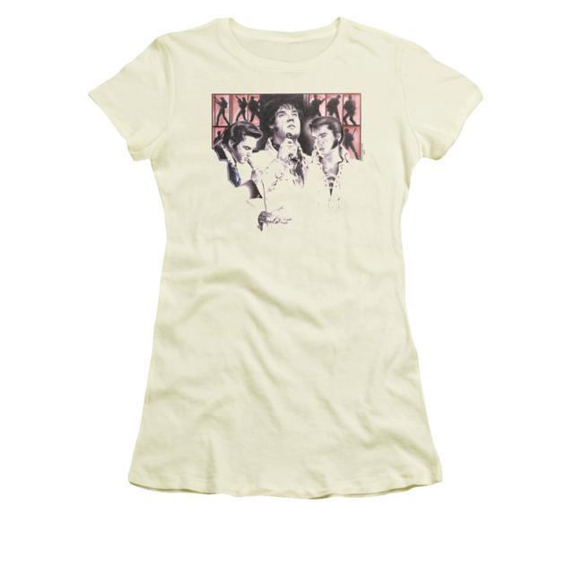 Elvis Presley Juniors Shirt   IN CONCERT Juniors T Shirt