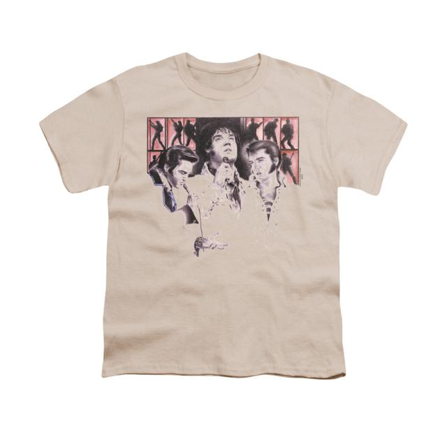 Elvis Presley Youth Tee   IN CONCERT Youth T Shirt