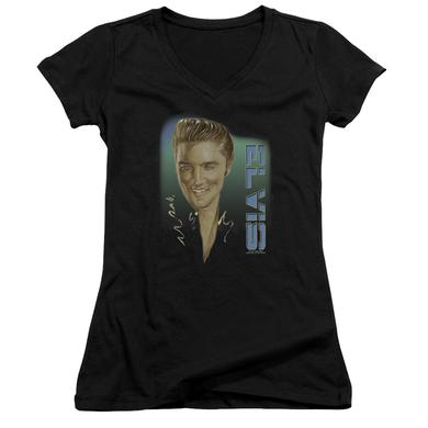 Junior's V-Neck Shirt | ELVIS 56 Junior's Tee