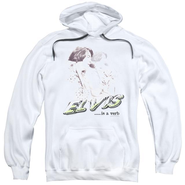 Hoodie | ELVIS IS A VERB Pull-Over Sweatshirt