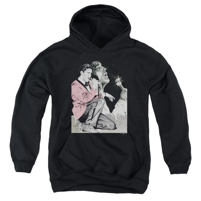 Elvis Presley Youth Hoodie | ROCK N ROLL SMOKE Pull-Over Sweatshirt