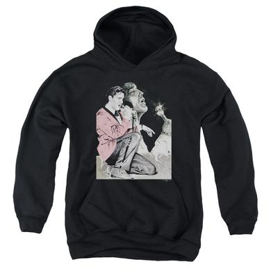 Elvis Presley Youth Hoodie | ROCK N ROLL SMOKE Pull-Over Sweatshirt