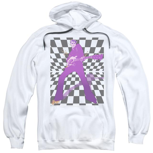 Elvis Presley Hoodie | LET'S ROCK Pull-Over Sweatshirt