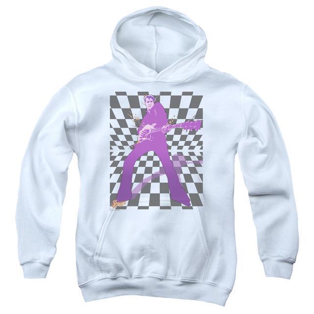 Elvis Presley Youth Hoodie | LET'S ROCK Pull-Over Sweatshirt
