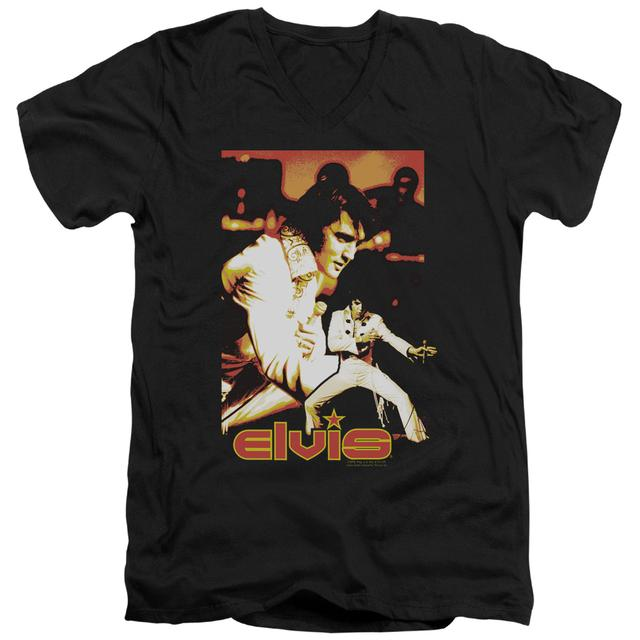 Elvis Presley T Shirt (Slim Fit) | SHOWMAN Slim-fit Tee