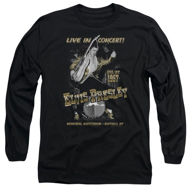 Elvis Presley T Shirt | LIVE IN BUFFALO Premium Tee
