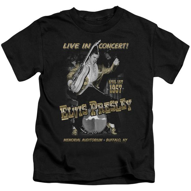 Elvis Presley Kids T Shirt | LIVE IN BUFFALO Kids Tee