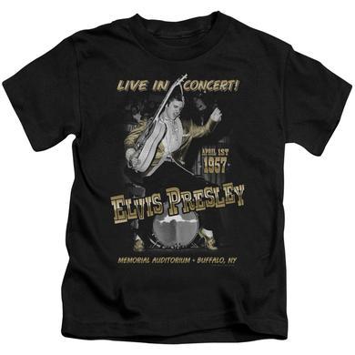 Elvis Presley Kids T Shirt | LIVE IN BUFFALO Kids Tee