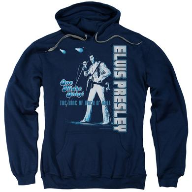 Elvis Presley Hoodie | ONE NIGHT ONLY Pull-Over Sweatshirt