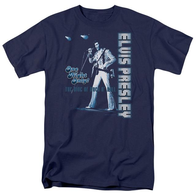 Elvis Presley Shirt | ONE NIGHT ONLY T Shirt