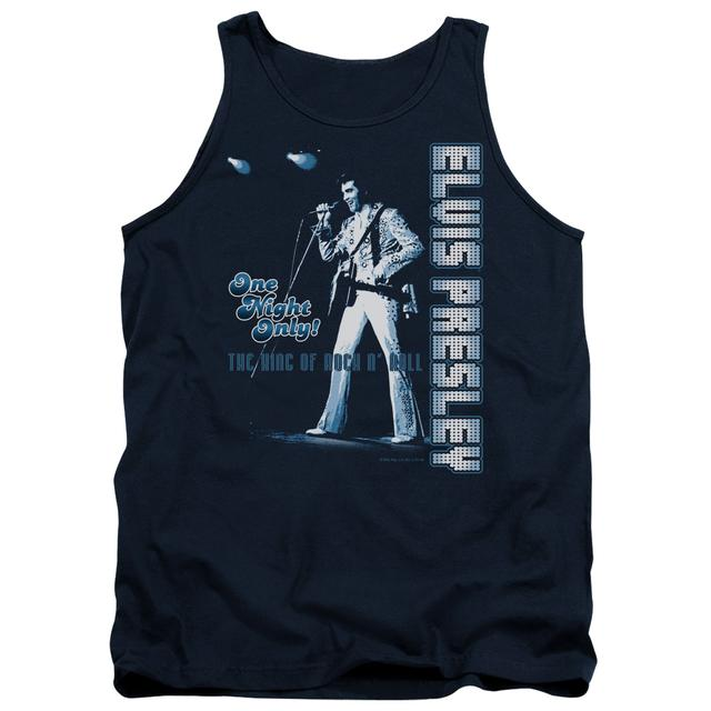 Elvis Presley Tank Top | ONE NIGHT ONLY Sleeveless Shirt
