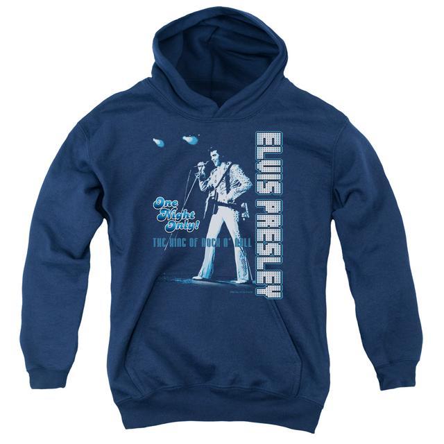 Elvis Presley Youth Hoodie | ONE NIGHT ONLY Pull-Over Sweatshirt
