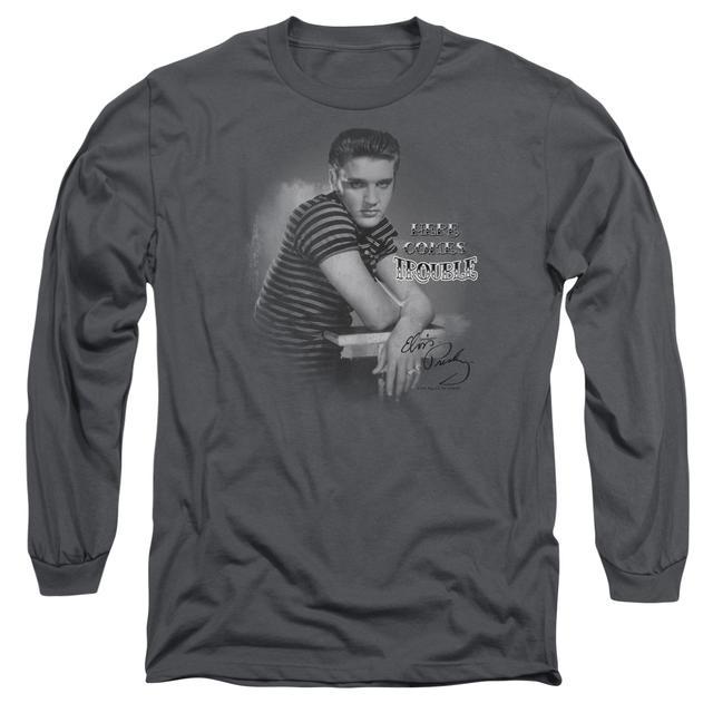 Elvis Presley T Shirt | TROUBLE Premium Tee