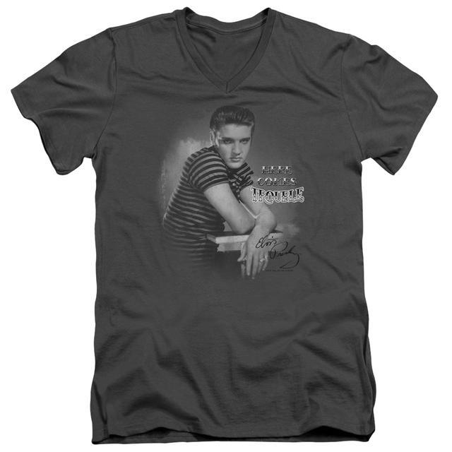 Elvis Presley T Shirt (Slim Fit) | TROUBLE Slim-fit Tee