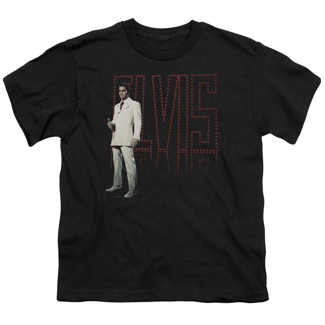 Elvis Presley Youth Tee | WHITE SUIT Youth T Shirt