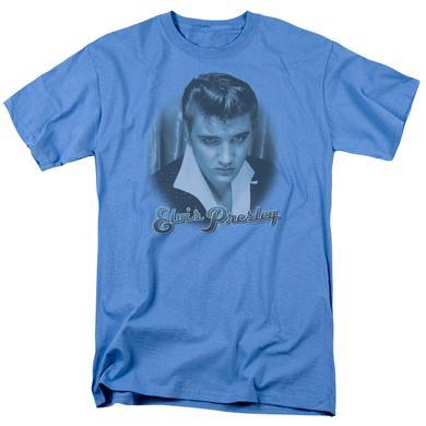 Elvis Presley Shirt | BLUE SUEDE FADE T Shirt