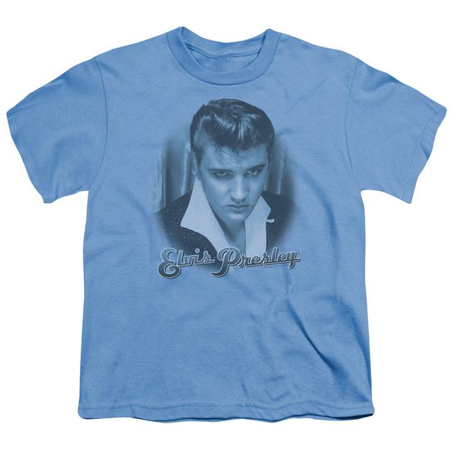 Elvis Presley Youth Tee   BLUE SUEDE FADE Youth T Shirt