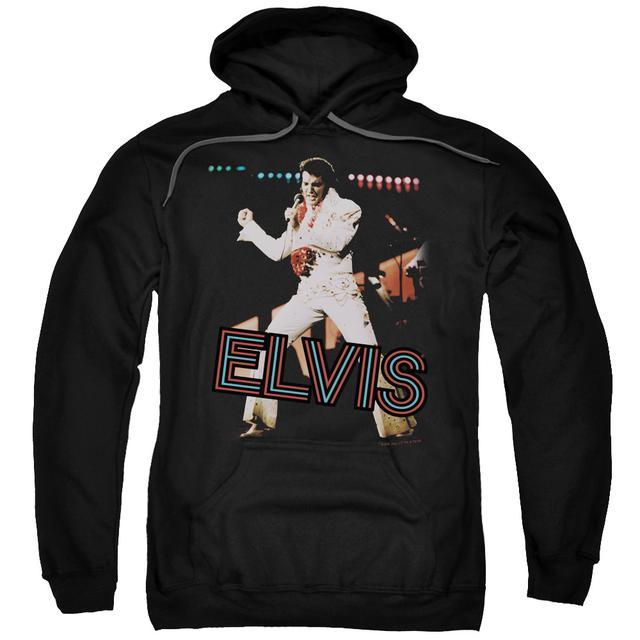 Elvis Presley Hoodie | HIT THE LIGHTS Pull-Over Sweatshirt