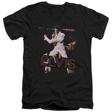 Elvis Presley T Shirt (Slim Fit) | HIT THE LIGHTS Slim-fit Tee