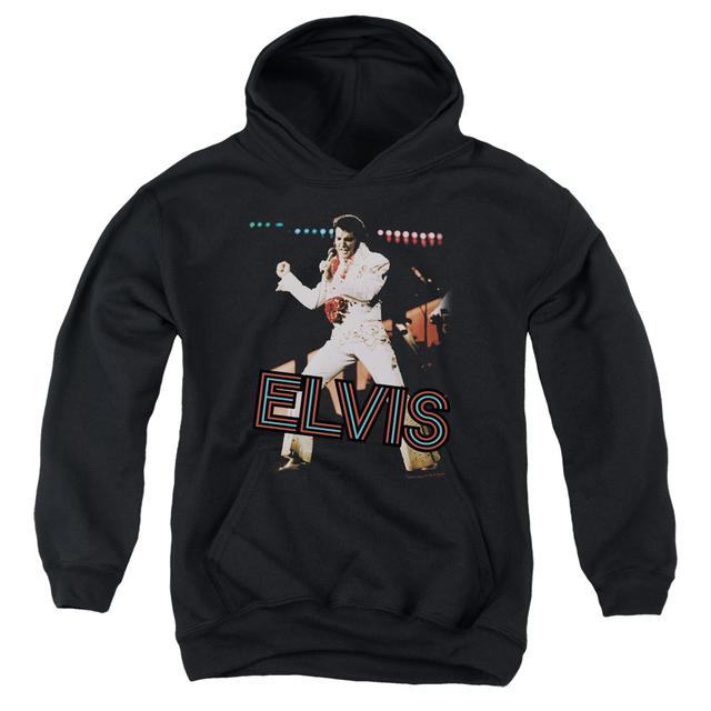 Elvis Presley Youth Hoodie | HIT THE LIGHTS Pull-Over Sweatshirt