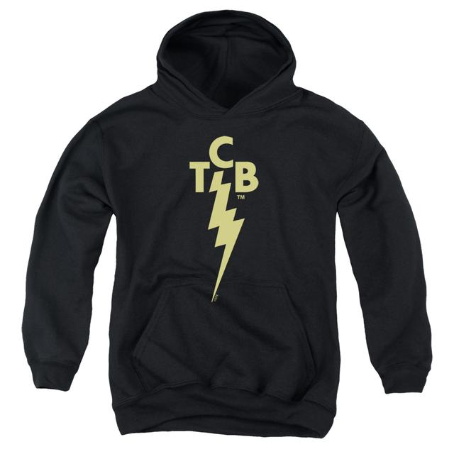 Elvis Presley Youth Hoodie | TCB LOGO Pull-Over Sweatshirt