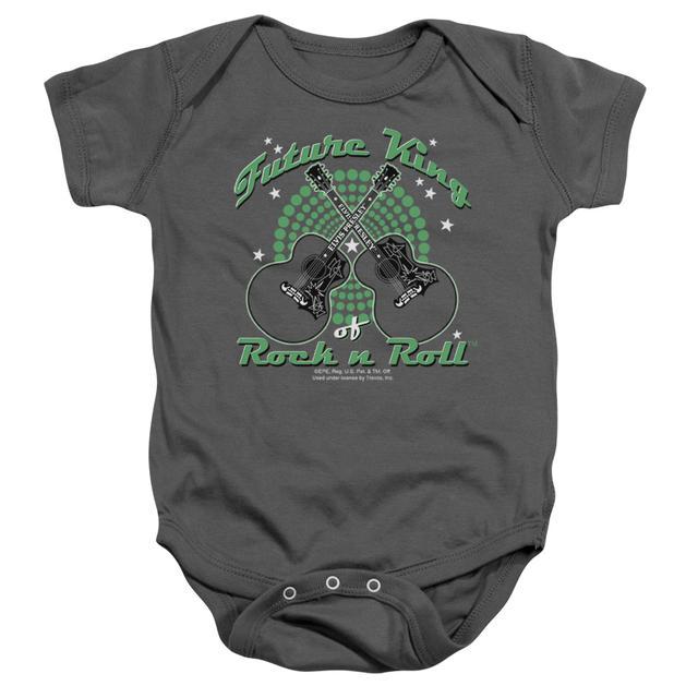 Elvis Presley Baby Onesie | FUTURE KING Infant Snapsuit