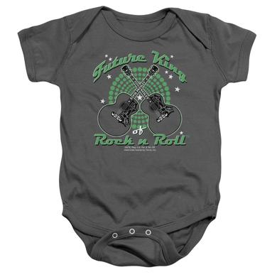 Elvis Presley Baby Onesie | FUTURE KING Infant Snapsuit