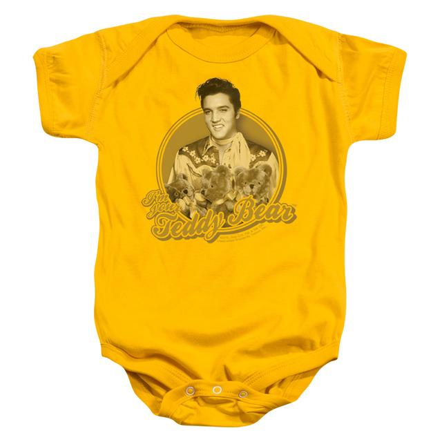 Elvis Presley Baby Onesie | TEDDY BEAR Infant Snapsuit