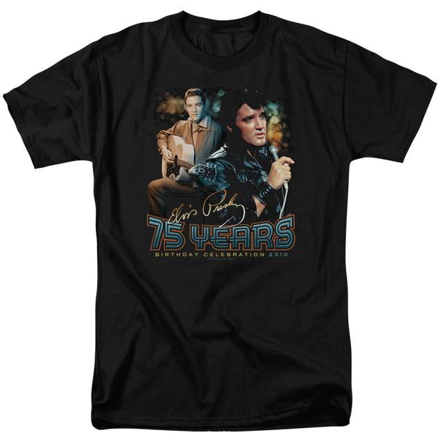 Elvis Presley Shirt | 75 YEARS T Shirt