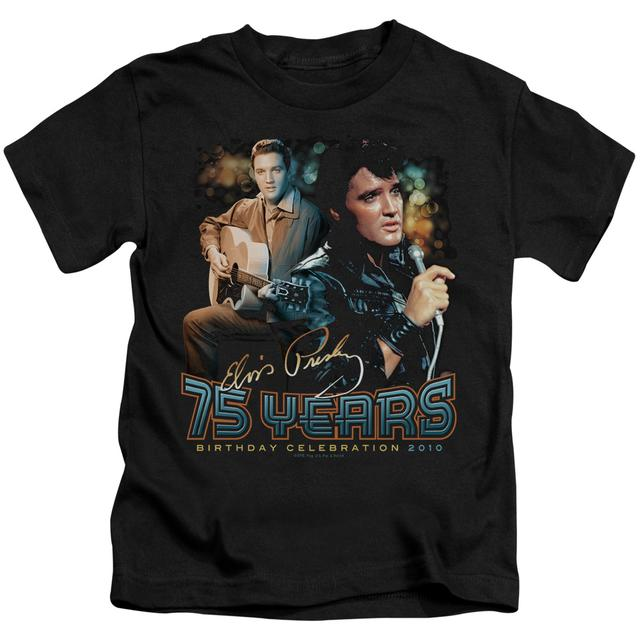 Elvis Presley Kids T Shirt | 75 YEARS Kids Tee