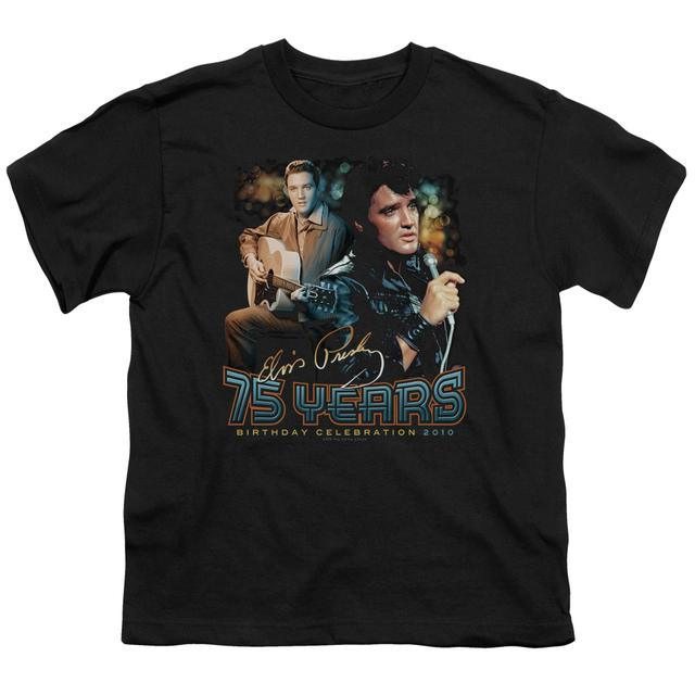 Elvis Presley Youth Tee | 75 YEARS Youth T Shirt