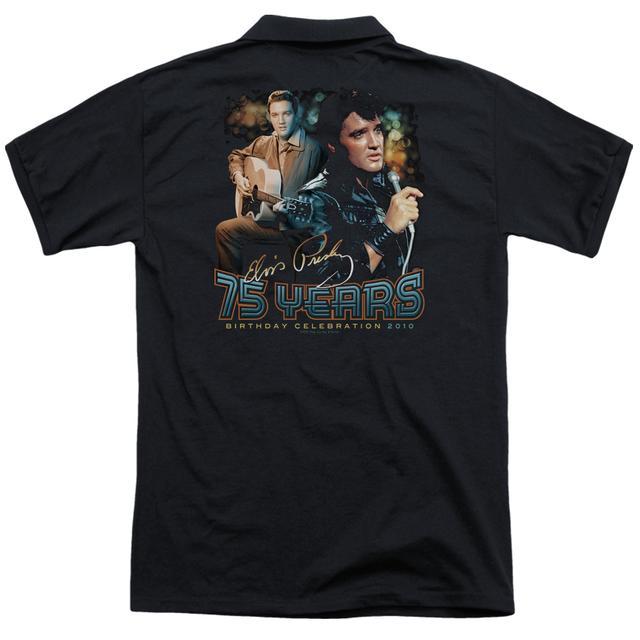 Elvis Presley 75 YEARS (BACK PRINT)