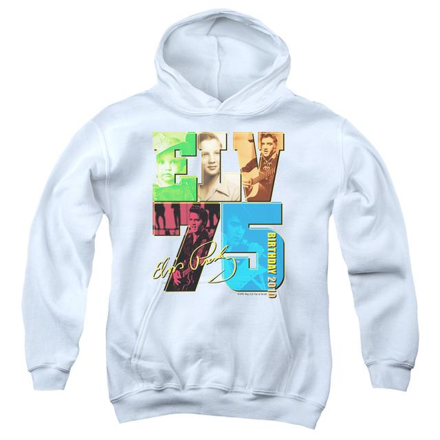 Elvis Presley Youth Hoodie | BIRTHDAY 2010 Pull-Over Sweatshirt