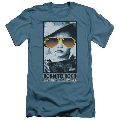 Elvis Presley Slim-Fit Shirt | BORN TO ROCK Slim-Fit Tee