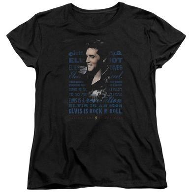 Elvis Presley Women's Shirt   ICON Ladies Tee