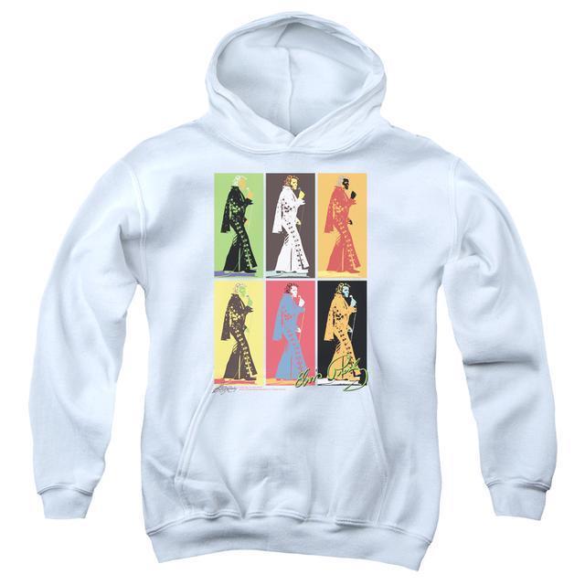 Elvis Presley Youth Hoodie | RETRO BOXES Pull-Over Sweatshirt