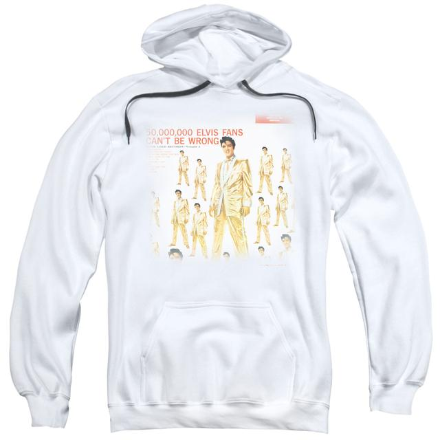 Elvis Presley Hoodie | 50 MILLION FANS Pull-Over Sweatshirt