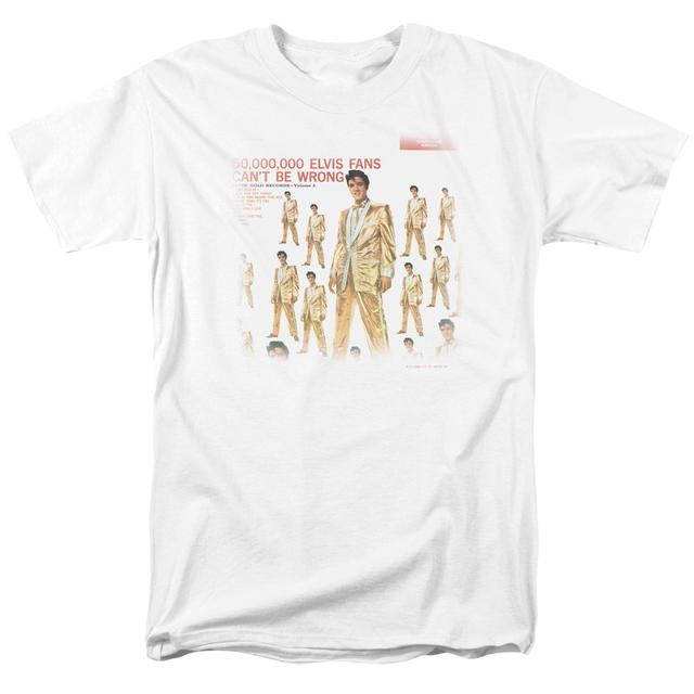 Elvis Presley Shirt | 50 MILLION FANS T Shirt