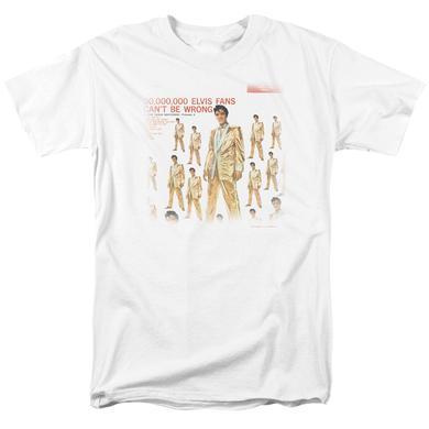 Elvis Presley Shirt | 50 MILLION FANS T Shirt