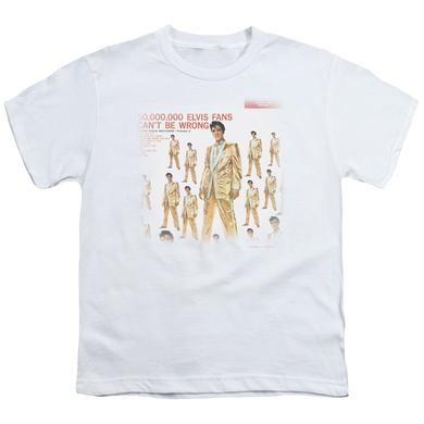 Elvis Presley Youth Tee | 50 MILLION FANS Youth T Shirt