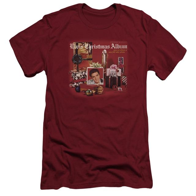 Elvis Presley Slim-Fit Shirt | CHRISTMAS ALBUM Slim-Fit Tee