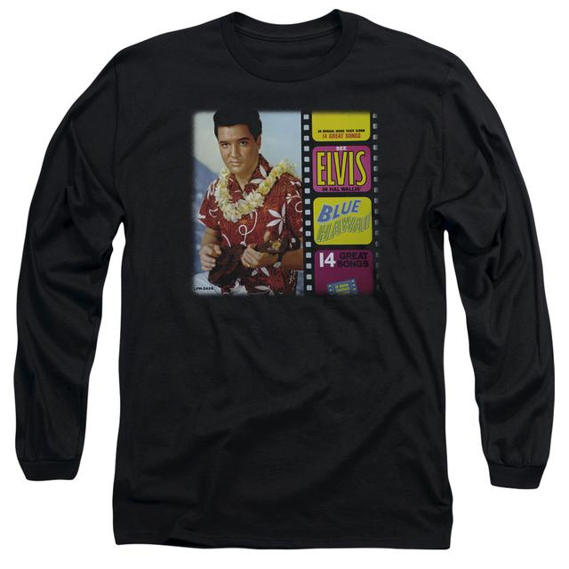 Elvis Presley T Shirt | BLUE HAWAII ALBUM Premium Tee