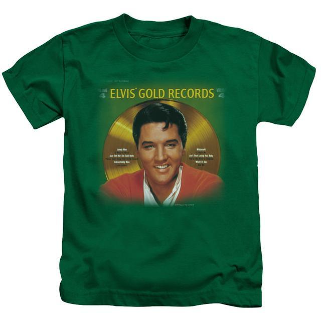 Elvis Presley Kids T Shirt | GOLD RECORDS Kids Tee