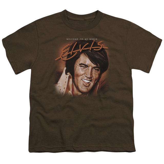 Elvis Presley Youth Tee | WELCOME TO MY WORLD Youth T Shirt
